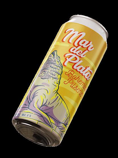 Mar del Plata Bohemian Pilsener - Cerveza Artesanal Argentina